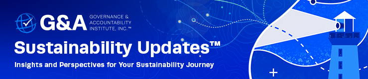 Sustainability Update
